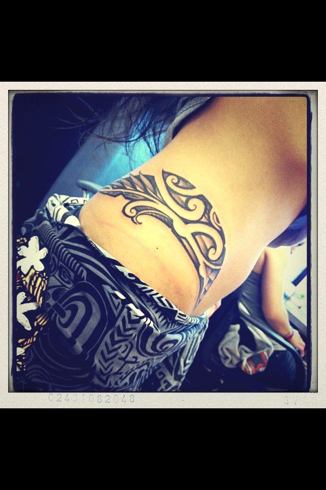 Polynesian tattoos - don't care so much for the design, but the placement is interesting #polynesian #tattoo