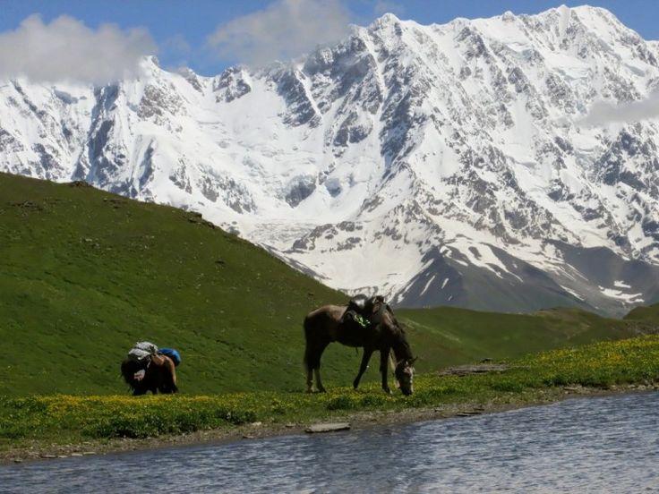 Местия (Местиа) - горнолыжный курорт и культурный центр Грузии
