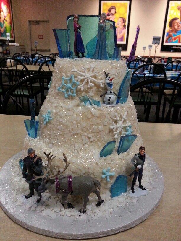 disney+frozen+birthday+cakes | Walt Disney Characters Walt Disney Cakes - Frozen