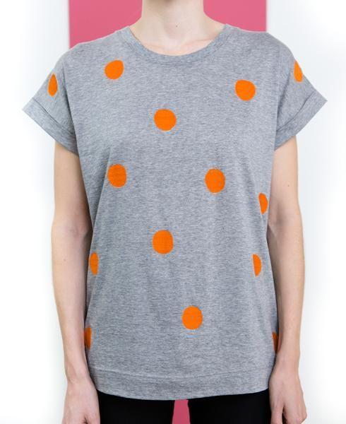 Orange Spot Tee // Folk
