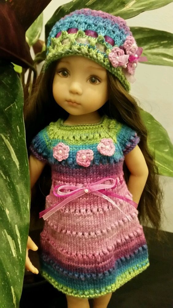 """Pure bamboo colored outfit for Dianna Effner Little Darling 13"""""""
