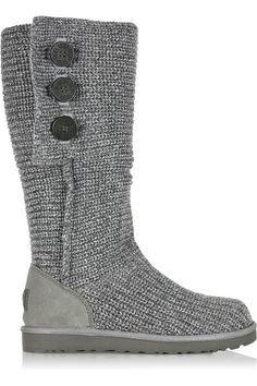 botas grises