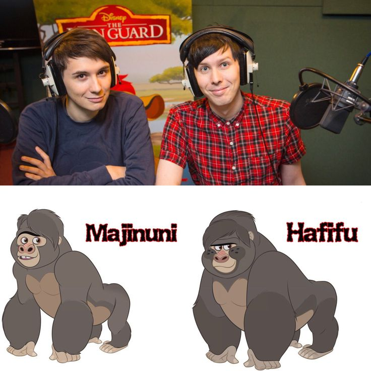 *longest yeah boy ever* << The Gorillas even look like them I don't even know anymore...