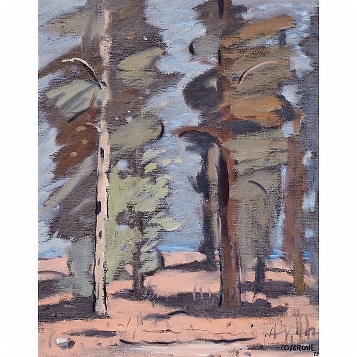 STANLEY MOREL COSGROVE, R.C.A.TREESoil on canvassigned and dated '79 20 ins x 16 ins; 50.8 cms x 40.6 cms