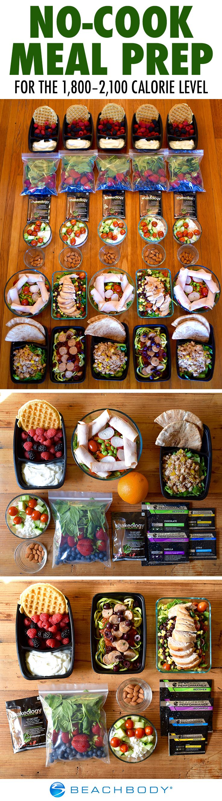 With this no-cook meal prep menu, you can enjoy a week of wholesome meals without ever turning on your oven. All it takes is a little chopping and stirring. Sound easy? We think so.