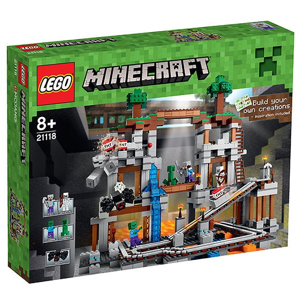 LEGO® Minecraft The Mine 21118