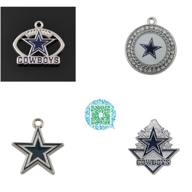 Football Charm Dallas Cowboys Jewelry