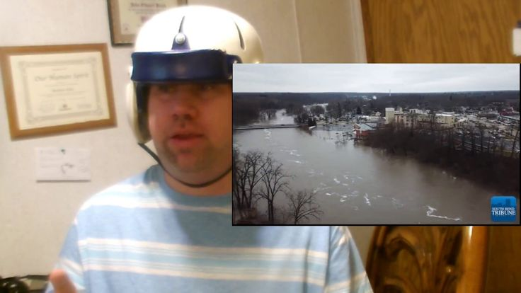 Record Breaking Flood in Niles Michigan