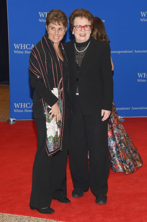 Ilana Kloss and Billie Jean King. See what all the celebrities, including Chrissy Teigen and Martha Stewart, wore at the White House Press Correspondents' Dinner.