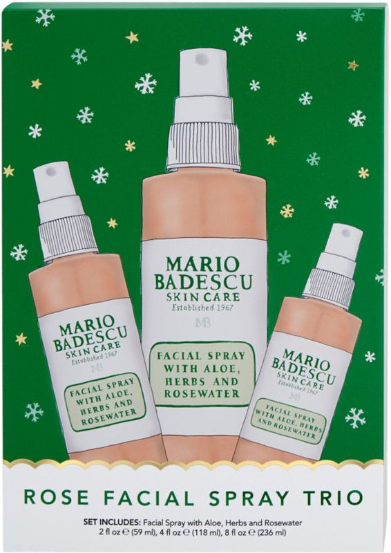 Mario Badescu Rose Spray Trio Ulta Beauty Facial Spray Mario Badescu Skin Care Skin Care