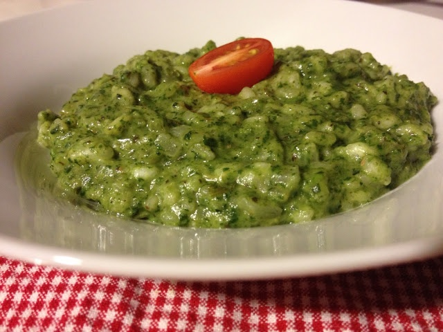 Risotto verde! :9 | Food Recipes | Pinterest