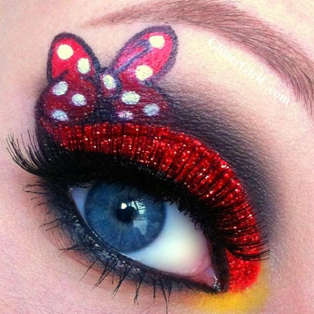 Makeup artist Tal Peleg posted these amazing eye makeup designs based on the two main characters in Disney's Frozen. Description from pinterest.com. I searched for this on bing.com/images