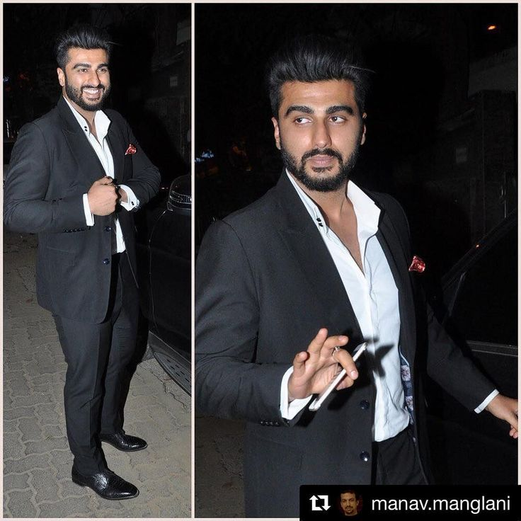 When u bump into ur photographer friends and they make u look good !!! #Repost @manav.manglani with @repostapp ・・・ Arjun Kapoor