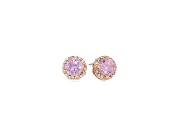 BETSEY JOHNSONAll That Glitters Pink Crystal Earring