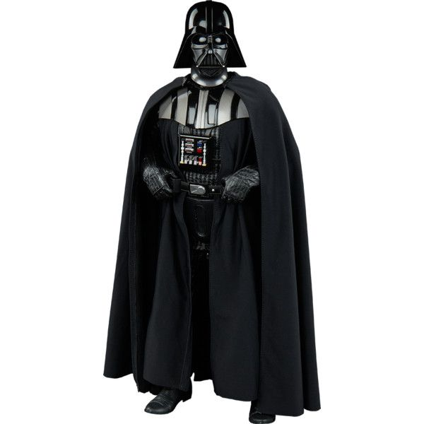 Star Wars Darth Vader Sixth Scale Figure ($230) ❤ liked on Polyvore featuring home, home decor, star wars home decor, star wars darth vader figure, star wars figurines, star wars home accessories and star wars figure