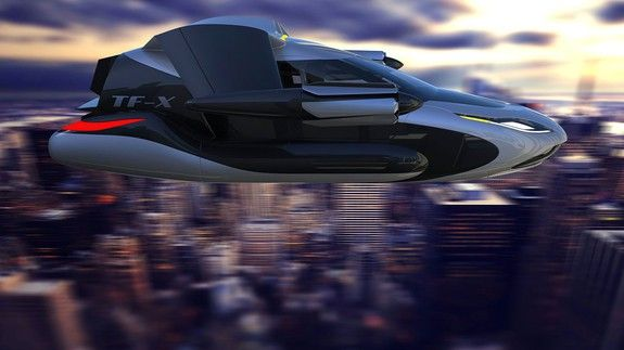 Volvos parent company wants to sell you a flying car by 2019