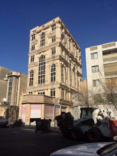 #facade #modern_facade #نما #نما_کلاسیک #facade_designing نمای اجرا شده