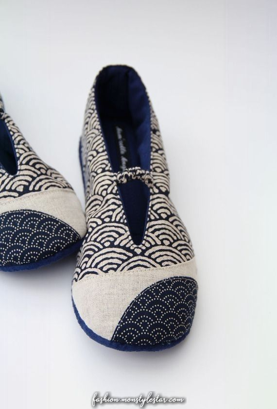 Magique Reserve Chaussons En Tissus Nippon A Grosses Universels Beant Nippon How To Make Shoes Diy Shoes Handmade Shoes