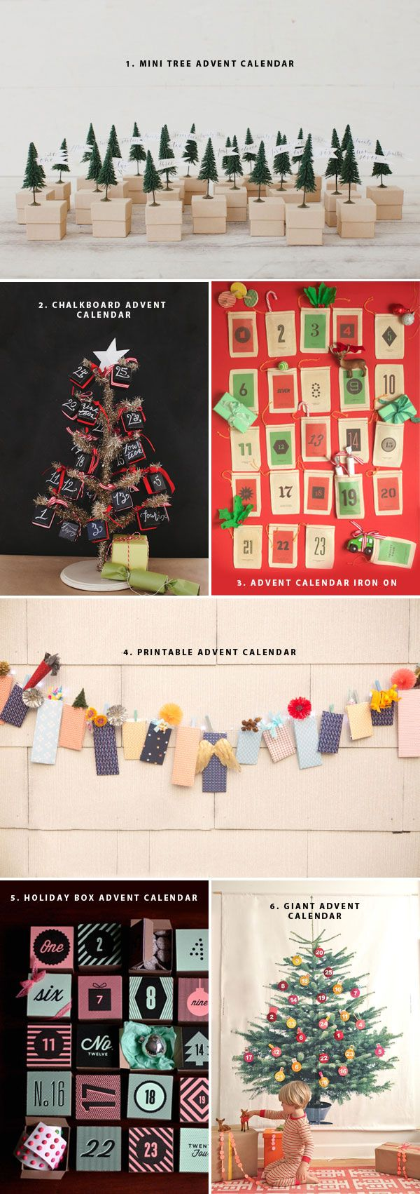Advent Calendar Ideas   Oh Happy Day!