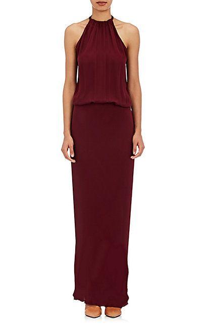 Nili Lotan Silk Charmeuse Gown - Dresses - 504835239
