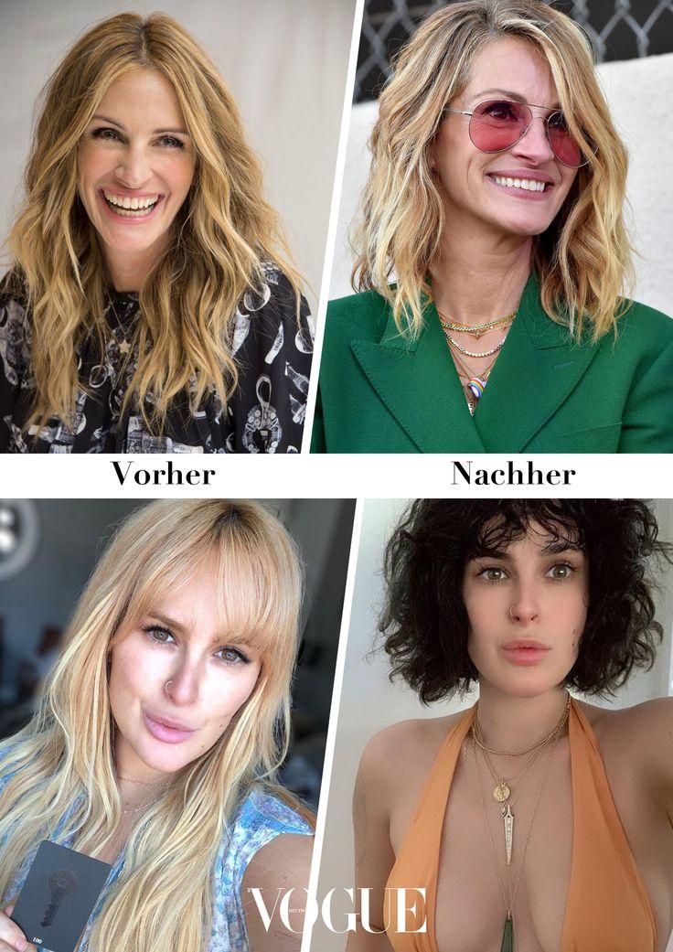 news-galerie: diese stars tragen eine neue frisur | neue