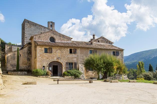 La Piboule, Provence, France - the villa itself