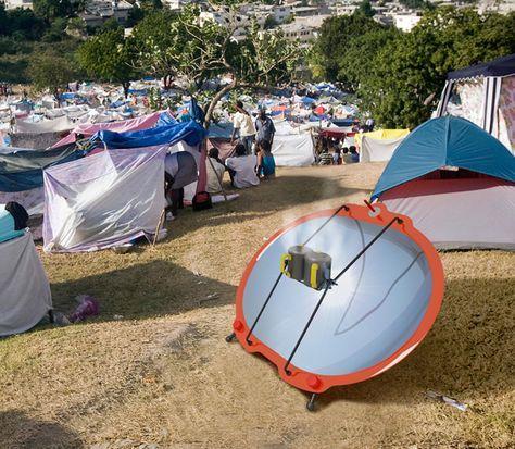 Le four solaire humanitaire en kit