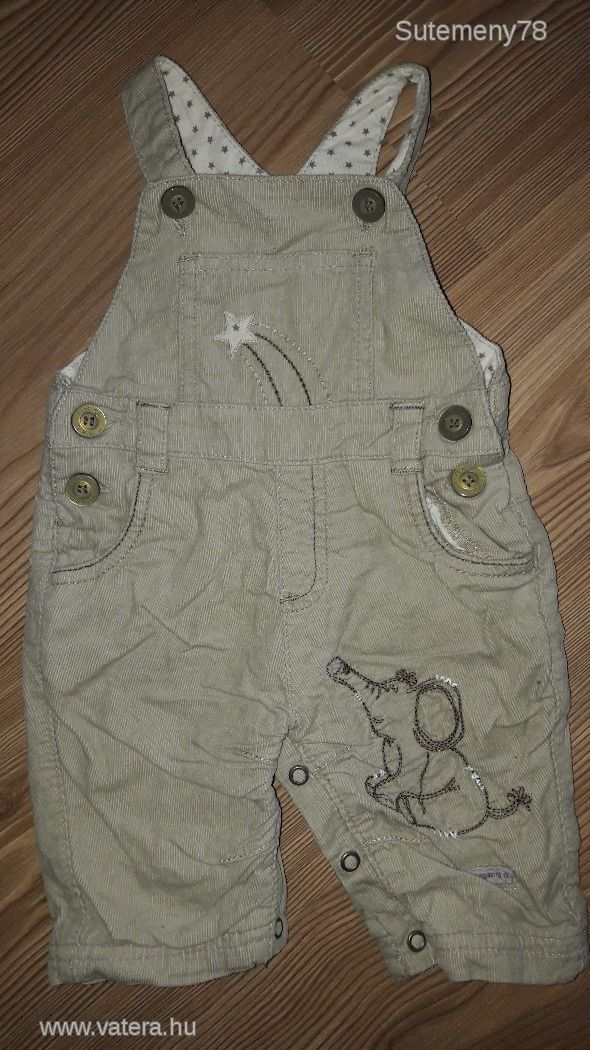 3 hós (62cm) NEXT BABY bélelt kantáros nadrág kisfiúnak - 1700 Ft - Nézd meg Te is Vaterán - Egyéb - http://www.vatera.hu/item/view/?cod=2539124171