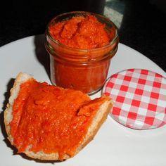 Rezept Paprika-Brotaufstrich, vegetarisch/vegan von Rosemaria - Rezept der Kategorie Saucen/Dips/Brotaufstriche