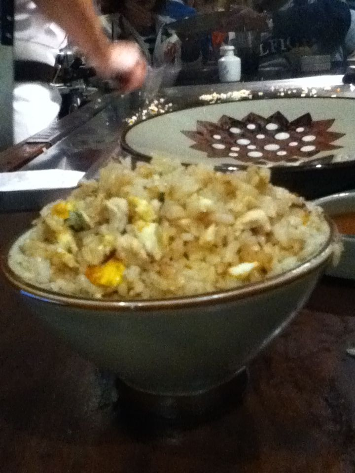 Chicken fried rice  the result!