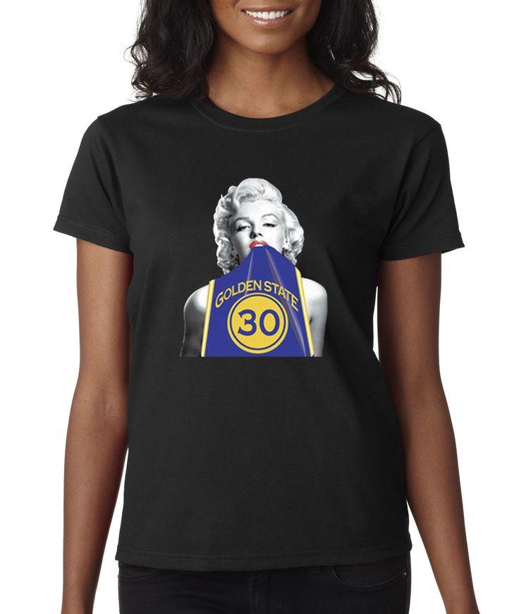 Way 503 - Women'S T-Shirt Marilyn Monroe Stephen Curry Golden State Jersey