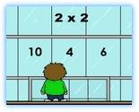 tafels oefenen (1 tafel aanduiden die je wil inoefenen) - digibord spelletje