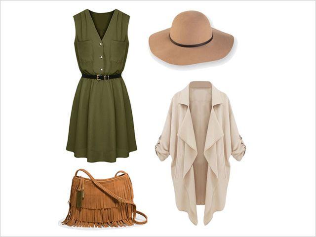 vestido-verde-militar