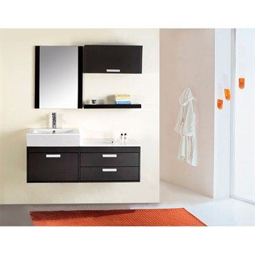 999   Virtu USA Alicia 51 quot  Single Sink Bathroom Vanity   Espresso. 1000  images about basin on Pinterest   Vanity units  Basin sink