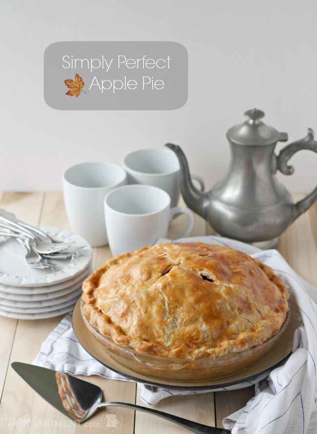 How to Make Perfect Apple Pie | Baking a Moment