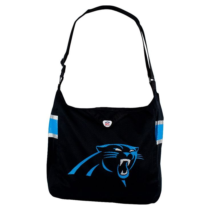 NFL Carolina Panthers Team Jersey Tote, Women's, Size: Large