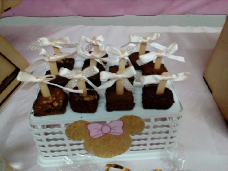 Mini brownies candybar MARIAPAZ BY BEVERLYSUDI