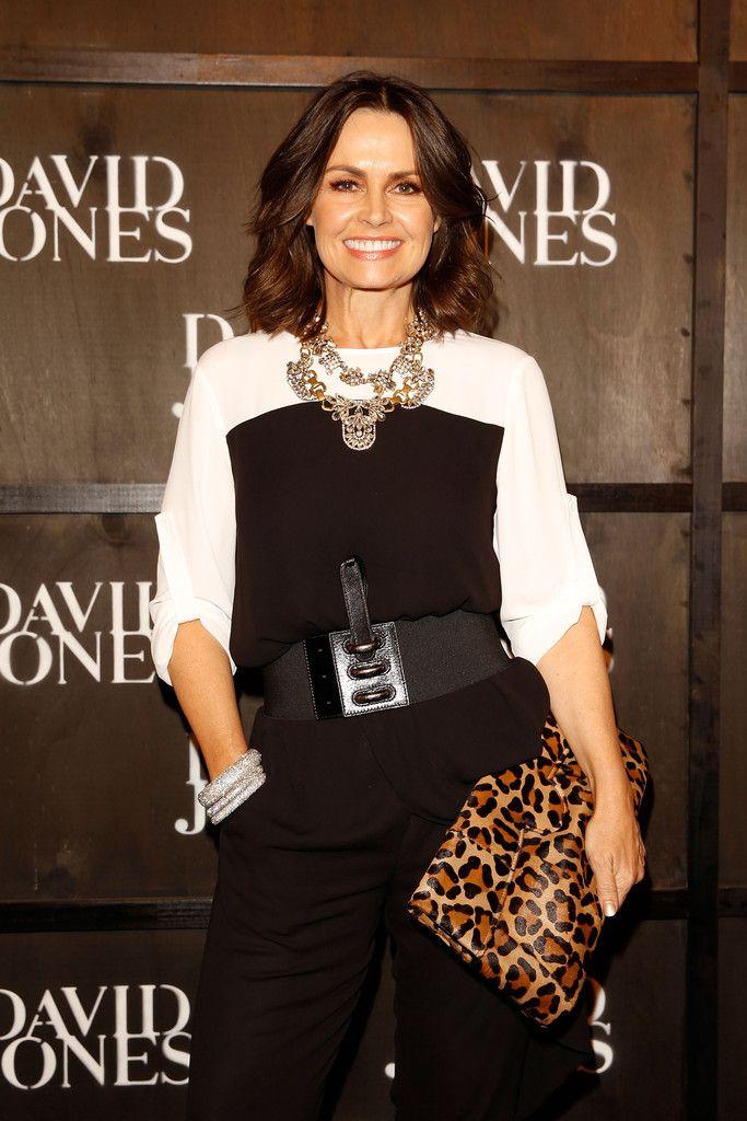 Lisa Wilkinson arrives at the David Jones A/W 2014 Collection Launch at the David Jones Elizabeth Street Store on January 29, 2014 in Sydney, Australia.