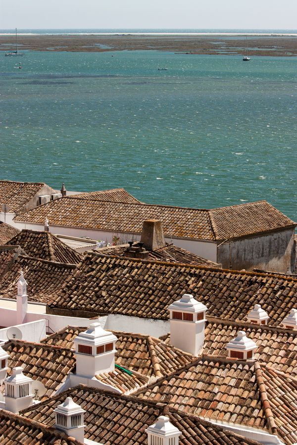 Rooftops in Faro - Portugal