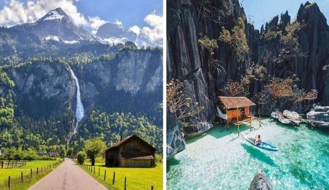 12 Gambar Pemandangan Alam Tercantik Di Dunia Di 2020 Pemandangan Gambar Alam