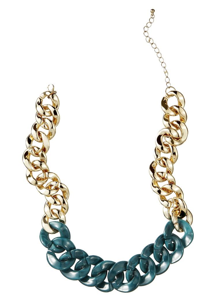 Arany és türkiz színű műanyag Six nyakék, 3 990 Ft  forrás: 2012. szeptember