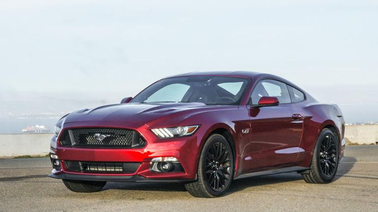 2015 Ford Mustang GT - Dropping its former retro style, the new Ford Mustang looks like a modern muscle car and exhibits excellent driving character.