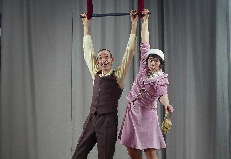 """The Maiers"""",a truly orchestrated,dexterous and funny clown acts.Watch as this hilarious couple clowns their way through a very impressive,very funny perrformance"""