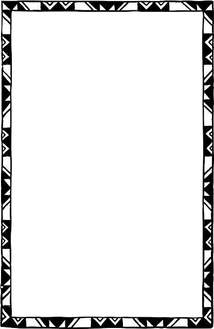 Free Frames and borders  png | Black, Decorated, Frame, White - Free image - 35438