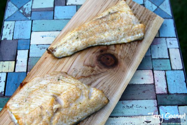 17 best images about primo grill recipes on pinterest for Grilling fish on cedar plank
