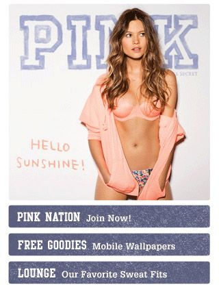 pink mobile website