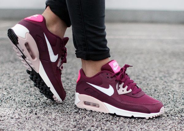 Air Max 90 Essential Villain Red & Champagne-Pink