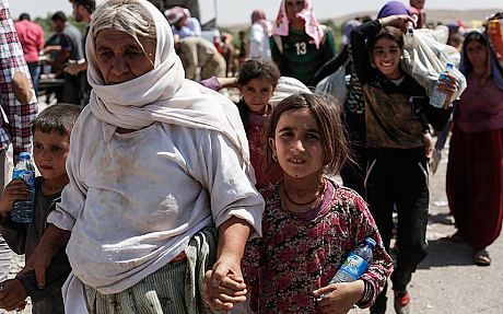 Iraq crisis: My night on the mountain of hell with dying Yazidi refugees - Telegraph