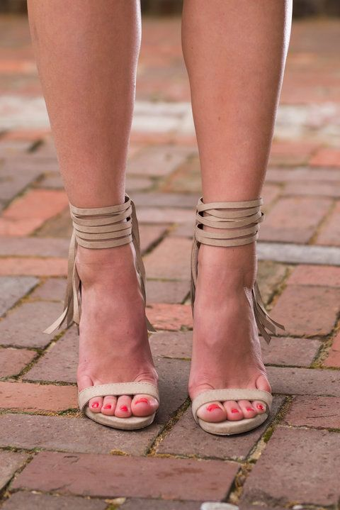 """Native Couture Heel, Taupe"""