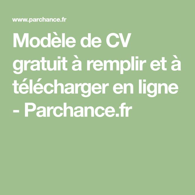 les 25 meilleures id u00e9es de la cat u00e9gorie cv original gratuit sur pinterest
